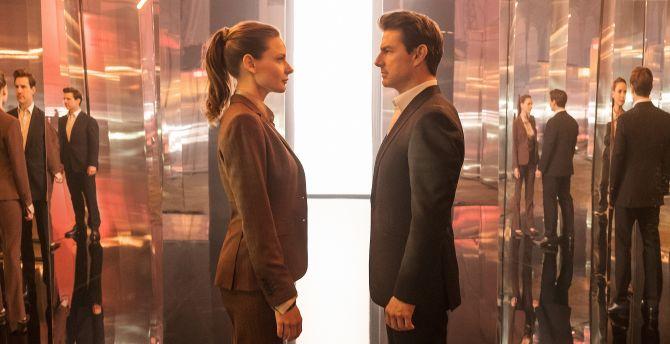 Mission: Impossible – Fallout, Rebecca Ferguson, movie, Tom Cruise wallpaper