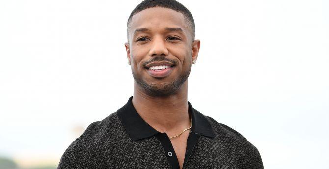 Desktop wallpaper actor, smile, michael