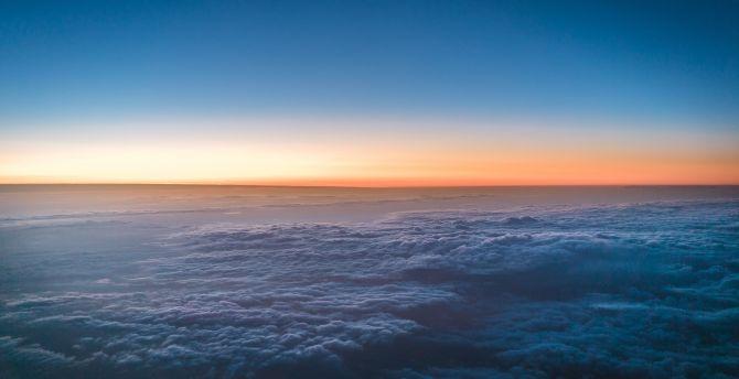 Above clouds 4k
