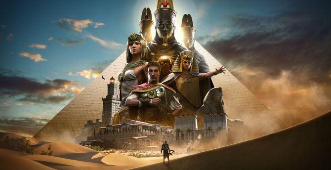 Assassins creed origins 2017 game 4k 8k
