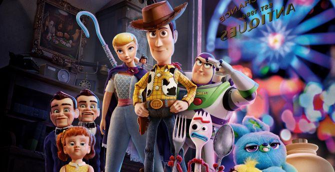 Desktop wallpaper 2019, toy story 4, animation movie, hd ...