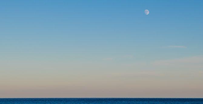 Clean skyline sea 5k