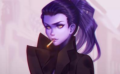 Overwatch widowmaker artwork
