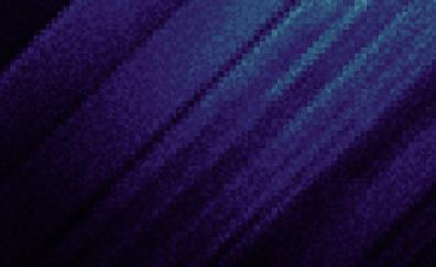 Pixels, dark, abstract, cold blue