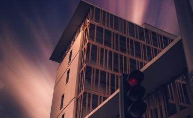 Building architecture traffic lights