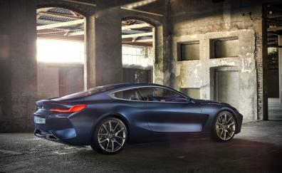 Bmw concept 8 series side view