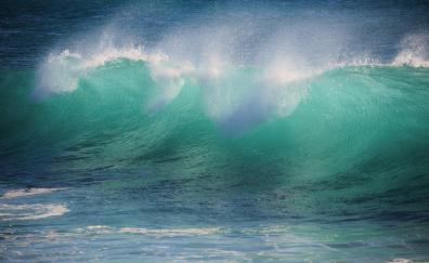 Sea waves big waves 5k