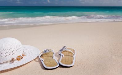 Holiday hat beach 4k