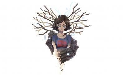 Juri yukawa minimal anime girl