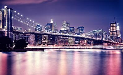 6 Brooklyn Bridge Hd Wallpapers Desktop Pc Laptop Mac Iphone Ipad Android Mobiles Tablets Windows Phone