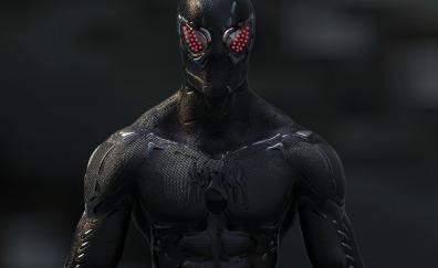 Black, Spider-man, artwork