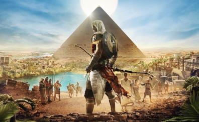 Assassins creed origins egypt pyramids 4k