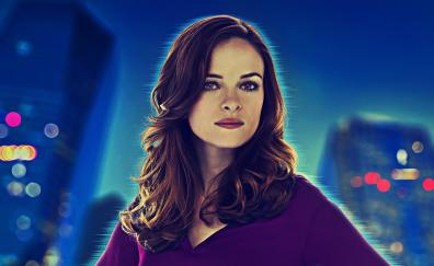 Danielle panabaker caitlin flash poster
