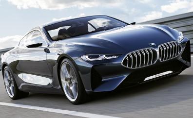 Bmw concept 8 series car