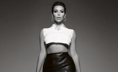 Kim Kardashian, elle, uk, 2018
