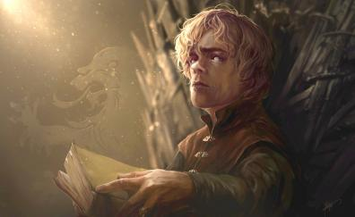 Tyrion game of thrones artwork