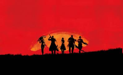 16 Red Dead Redemption 2 Hd Wallpapers Desktop Pc Laptop