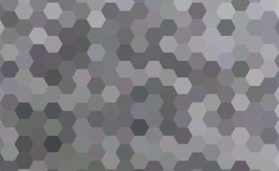 Hexagons, pattern, abstract