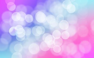 Bubble, circles, gradient, bokeh, abstract