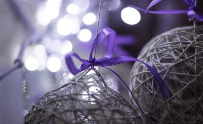 Textile woolen threads decorations ball