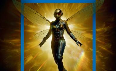 Wasp superheroine marvel comics