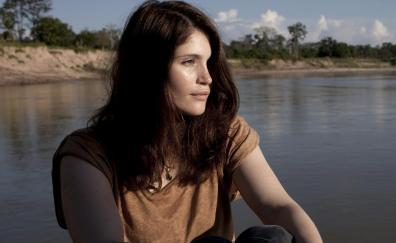Actress, Gemma Arterton, outdoor