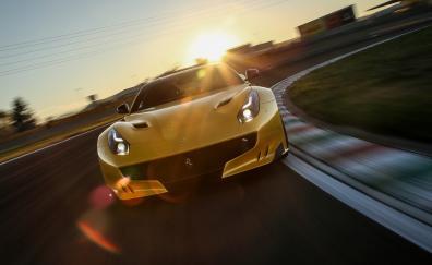 Ferrari f12 motion blur