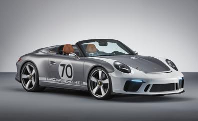 2018, Porsche 911 Speedster Concept, sports car