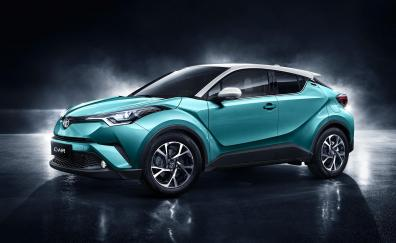 Toyota c hr 2018 4k