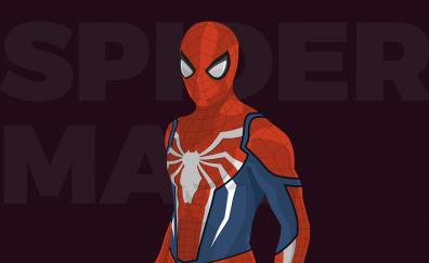 Spider-Man, minimal, artwork