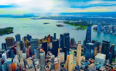City buildings new york