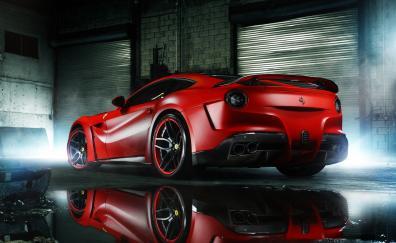 Rear ferrari 458 italia auto