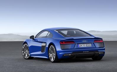 Audi r18 e tron quattro rear