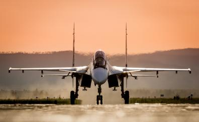 Sukhoi Su-30, fighter aircraft, military, plane