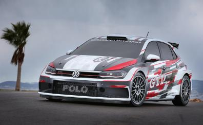 Volkswagen polo gti r5 front 2018