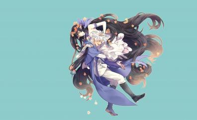 Fate series ruler anime couple