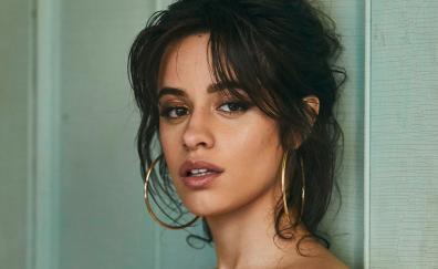 Camila Cabello, beautiful, dark hair, photoshoot