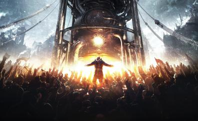 Frostpunk strategy city builder 2018