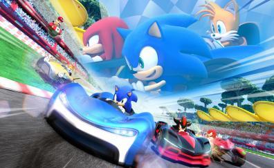 Team sonic racing sonic the hedgehog kart racing nintendo