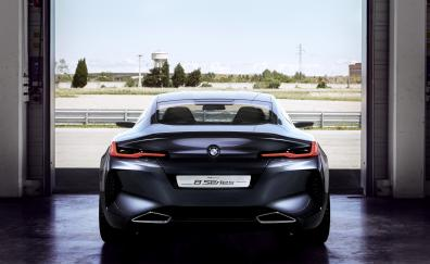 Rear view, BMW Concept 8 Series, 2018