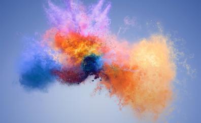 Colorful splash huawei honor 7x stock