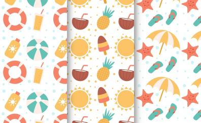 Fruits pattern abstract texture
