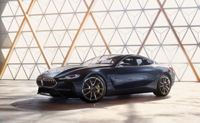 Auto show bmw concept 8 series car