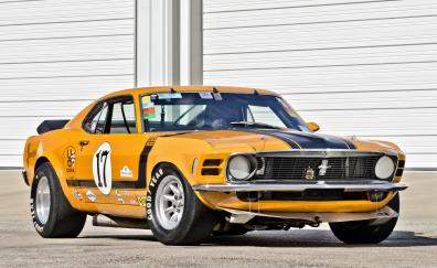 Sports car ford mustang boss 302