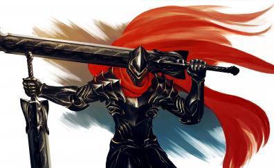Armour warrior overlord anime art