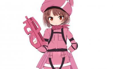 Pink dress karen kohiruimaki sword art online