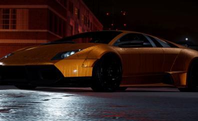 Lamborghini need for speed video game