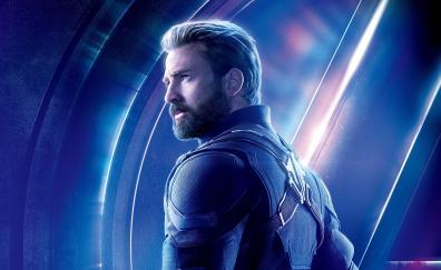 Avengers infinity war chris evans steve rogers captain