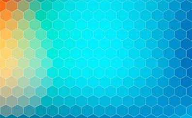 Background hexagons abstract