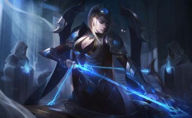 Girl warrior ashe league of legends
